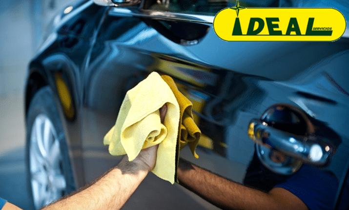 Limpieza de coche a domicilio en Madrid