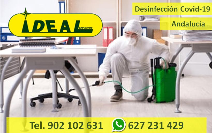 Empresas desinfección covid19 – coronavirus en Andalucía