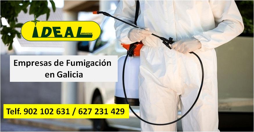 Empresas de Fumigación en Galicia