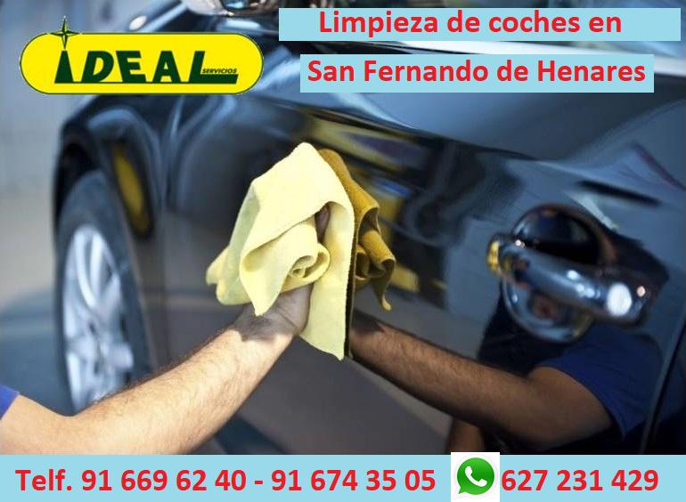 Empresas de limpieza de coches en San Fernando de Henares