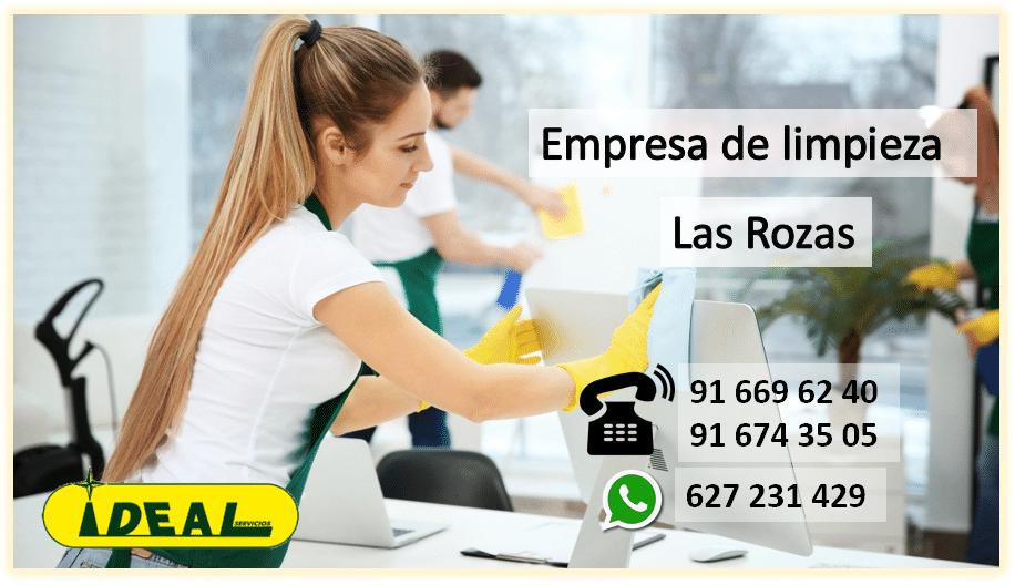 Empresas de Limpieza en Las Rozas,