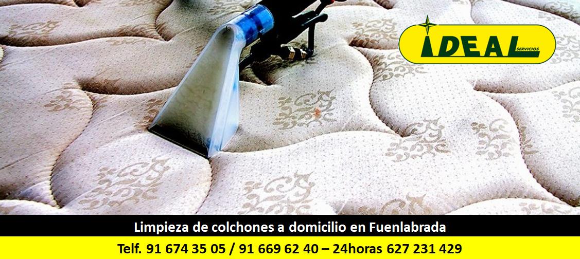 Limpieza de colchones a domicilio en Fuenlabrada
