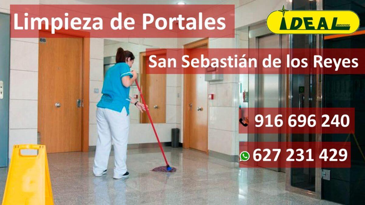 Presupuesto de limpieza de Portales en San Sebastián de los Reyes