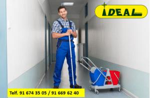 Empresa de conserjería en Madrid