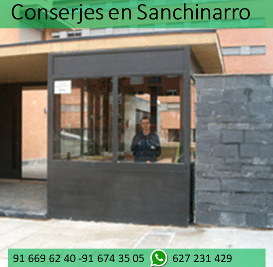 conserjes en Sanchinarro