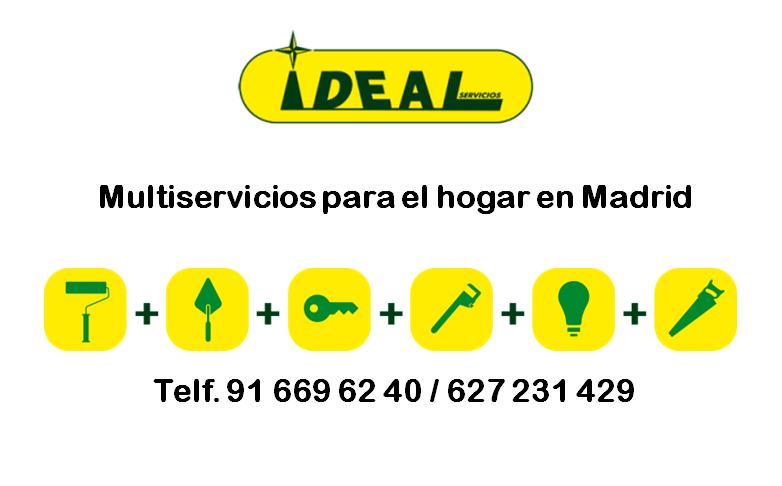 Multiservicios para el hogar en Madrid