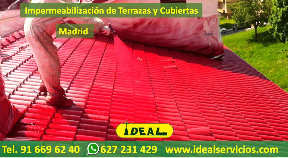 Presupuestos de Impermeabilización de Terrazas y Cubiertas en Madrid